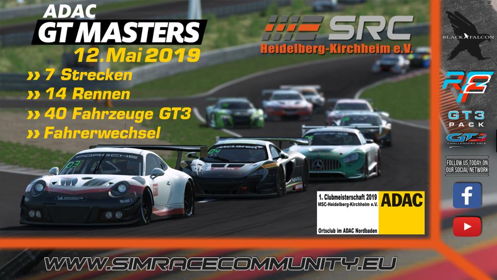 SimRacing GT Masters, GT3 Simulation