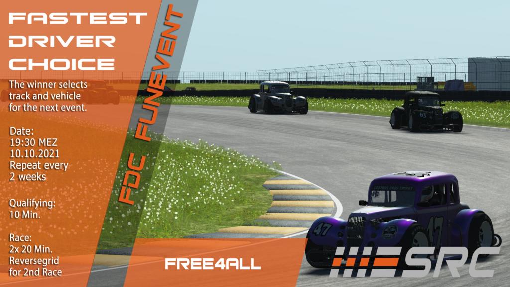 Fastest Driver Choice Round 14